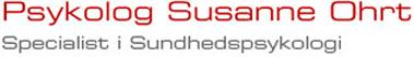 Psykolog Susanne Ohrt Specialist i Sundhedspsykologi Logo